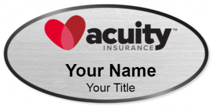 Acuity Insurance Name Tags - NameBadge.com